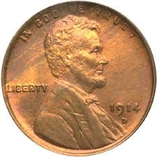 1914 penny
